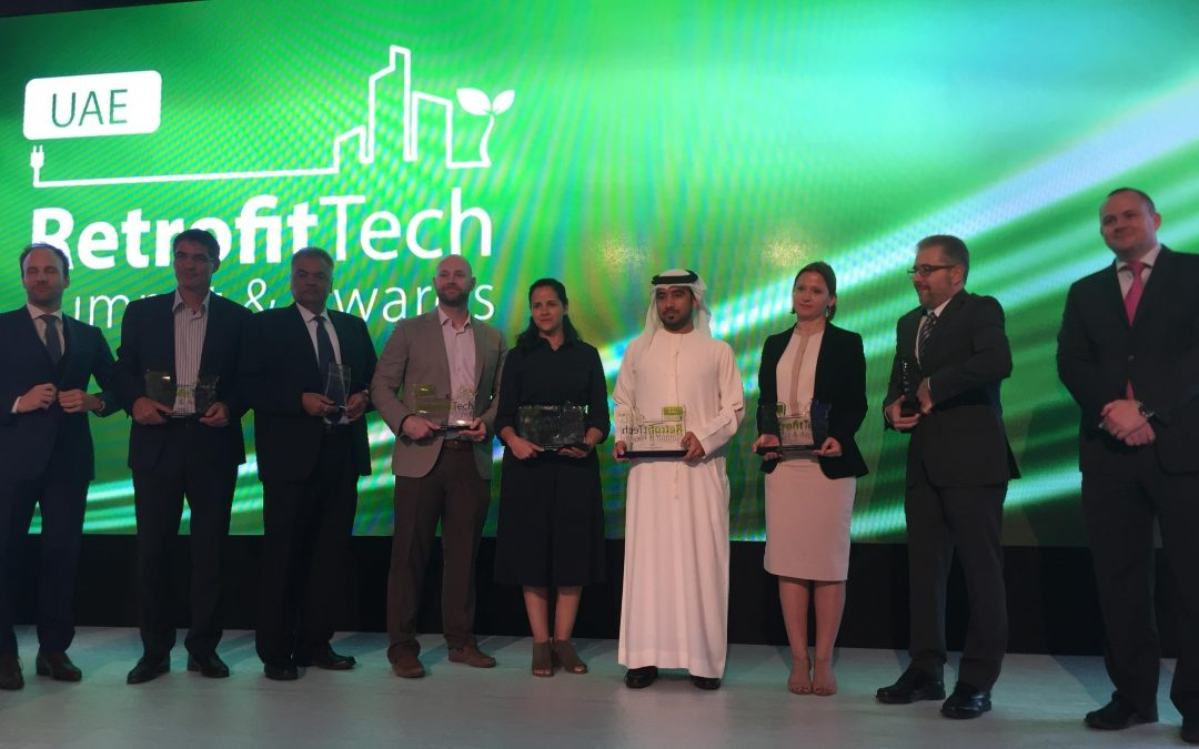 """Taka Solutions awarded the """"Building Retrofit of the year 2017"""""""