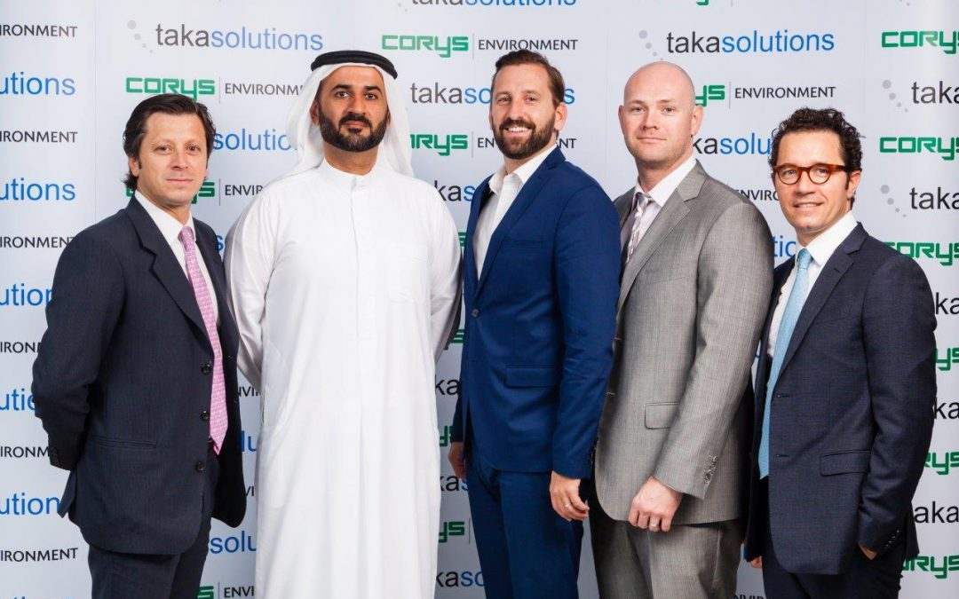 Corys Environment and Taka Solutions launch joint venture devoted to reducing UAE's energy consumption