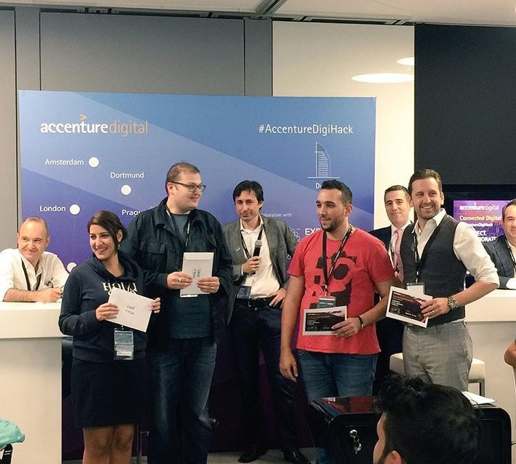 taka solutions' Charles Blaschke's team wins 1st regionally in Accenture's DigiHack