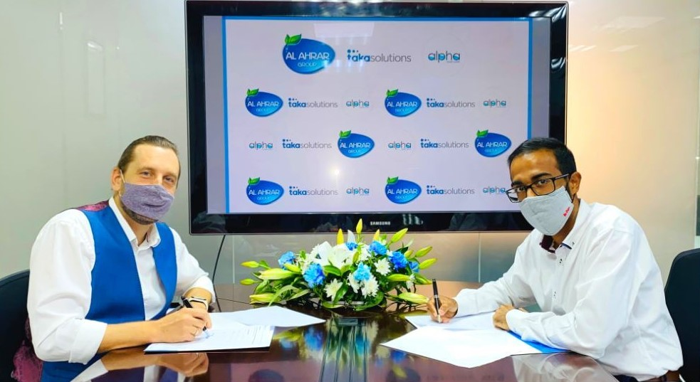 Alpha Sweet Water Signs 4 Year Financed Energy Efficiency Leasing Contract